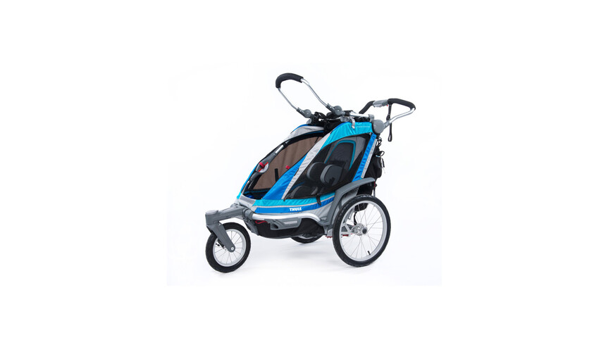 Remolque Thule Chariot Chinook 1 + kit para Stroller azul